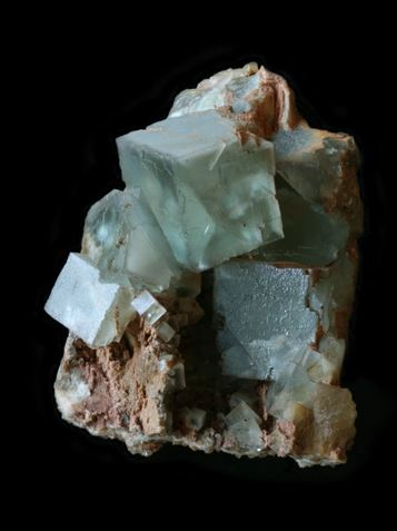 Green fluorite from Corta la Sirena, La Collada