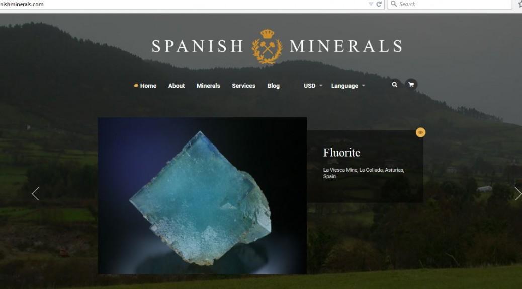 ニューアルオープン! ~Spanish Minerals~