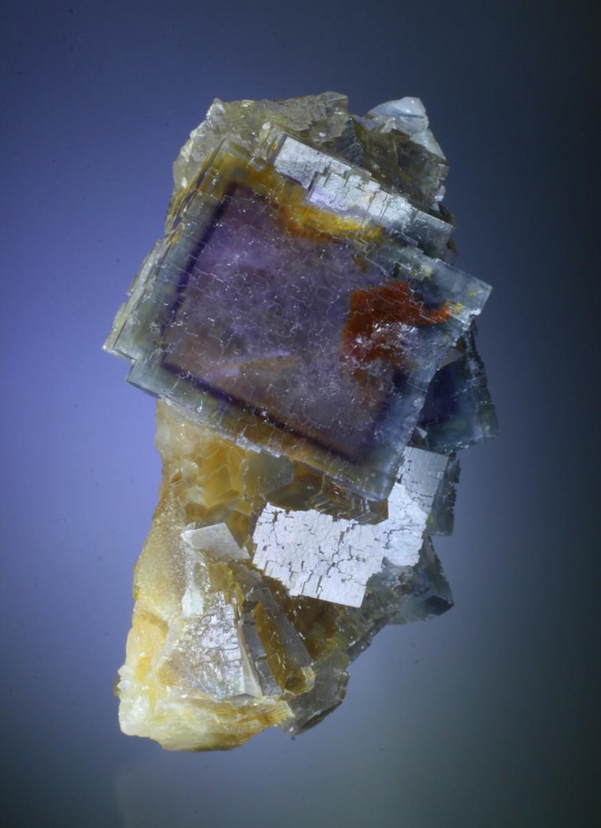 fine minerals - fluorite phantoms