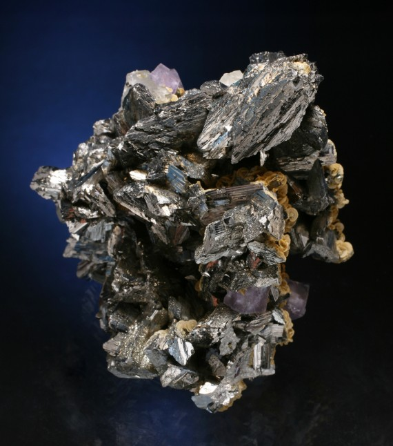 fine minerals - arsenopyrite panasqueira