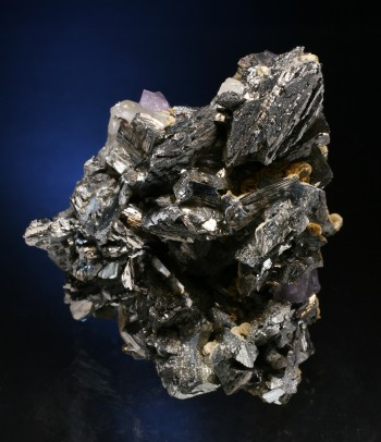 arsenopyrite with fluorite