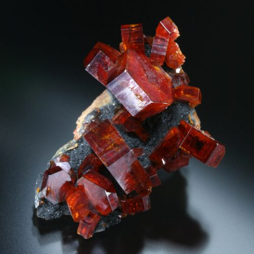 Top quality vanadinite - fine minerals