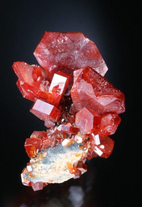 Fine vanadinite specimen Morocco