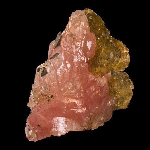 Fine minerals - pink calcite fluorite