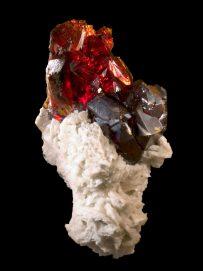 Fine minerals - sphalerite