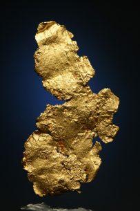 leaf gold mineral specimen